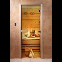 Дверь для сауны с Фотопечатью