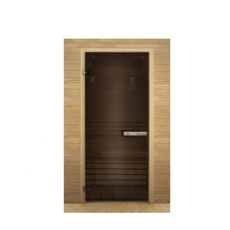 Дверь стекло бронза 1700х700 мм