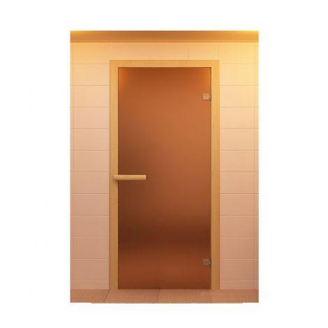 Дверь стекло бронза матовая 1800х700 мм