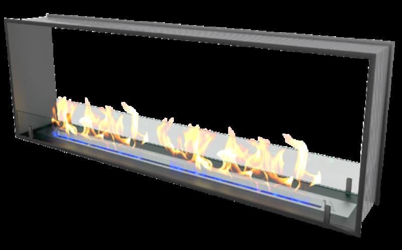 Встраиваемый сквозной очаг Standart 600 (ZeFire)