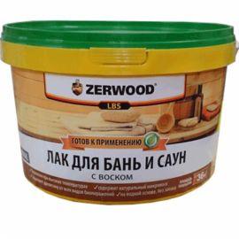 ЛАК для бань и саун ZERWOOD LBS 2,5 кг