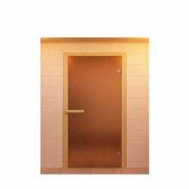 Дверь стекло бронза матовая 1700х700 мм