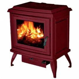 Печь Charleston C2-01, бордовый, эмаль (Cashin)
