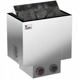 Электрическая печь SAWO NORDEX NRX-60NB-Z (6 кВт, встроенный пульт, внутри оцинковка, снаружи нержавейка)